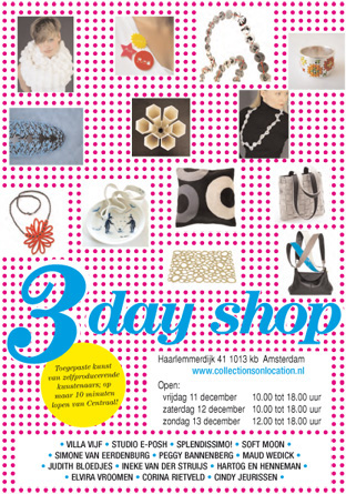 3 Day shop